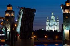 Smolny Kathedrale Stockbilder