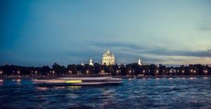 smolny Petersburg katedralny st Zdjęcie Stock