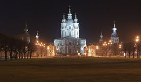 Smolny  Revivals Christ's a cathedral Stock Photos