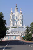 Smolnyi cathedral Stock Photos