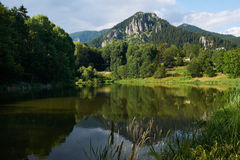 Smolyan lake, Bulgaria Royalty Free Stock Image