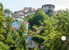 Smolyan mountain architecture in Bulgaria Stock Photography