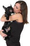 smooch собаки стоковые изображения rf