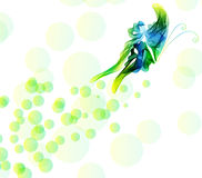Smooth abstract butterfly background Royalty Free Stock Photos