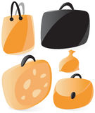 Smooth bags icons Stock Photography