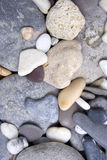 Smooth Beach Stones Royalty Free Stock Photography