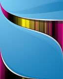 Smooth_blue_background Lizenzfreies Stockbild