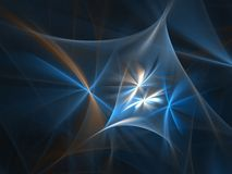 Smooth blue texture Stock Photo