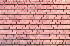 Detailed red brick wall texture. royalty free stock image