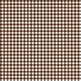 Smooth Gingham Seamless Pattern. Smooth brown and white classic gingham texture royalty free illustration
