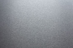 Smooth brushed metallic texture Stock Images