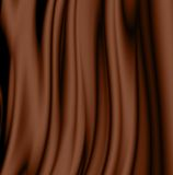Smooth chocolate waves Stock Photo