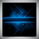 Smooth colorful abstract techno background Royalty Free Stock Photo