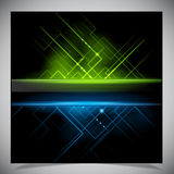 Smooth colorful abstract techno background Stock Photos