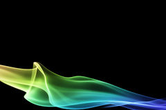 Smooth colorful design Stock Photography