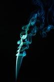 Smooth colour smoke Stock Image
