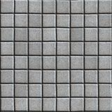 Smooth Concrete Pavement as Gray Square Stock Photo