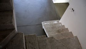 Smooth concreted floor Royalty Free Stock Photography