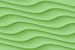 Smooth contoured curvy wave  lines abstract wallpaper background. Computer generated abstract wallpaper background featuring a pattern of smooth horizontal curvy stock illustration