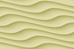 Smooth contoured curvy wave  lines abstract wallpaper background. Computer generated abstract wallpaper background featuring a pattern of smooth horizontal curvy royalty free illustration