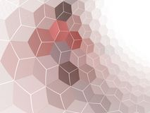 Smooth Cubed Wall Royalty Free Stock Image