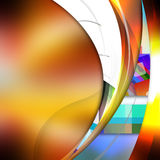 Smooth  curve lines  on  abstract  background. Smooth curve lines  on  abstract  background Royalty Free Stock Photography