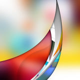 Smooth  curve lines  on  abstract  background. Smooth curve lines  on  abstract  background Stock Photography