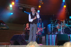 Smooth:  Dennis DeYoung in Blue Ash Royalty Free Stock Image