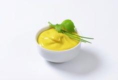 Smooth Dijon mustard Stock Photo