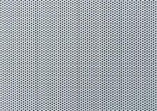 Smooth drilled metal Surface - Metal Background. Smooth drilled metal surface representing a metal background Stock Photo