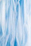 Smooth elegant blue fabric Royalty Free Stock Photography