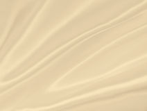 Smooth elegant golden silk or satin texture as background. In Se Royalty Free Stock Photography