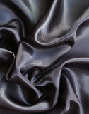 Smooth elegant grey silk as background Royalty Free Stock Images