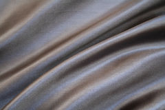 Smooth elegant grey silk as background Stock Photo