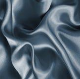 Smooth elegant grey silk or satin as background Stock Photo