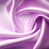 Smooth elegant lilac silk as background Royalty Free Stock Images