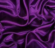 Smooth elegant lilac silk as background Stock Photography