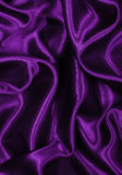 Smooth elegant lilac silk as background Royalty Free Stock Image