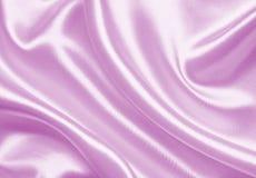 Smooth elegant pink silk or satin as wedding background Stock Image