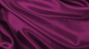 Smooth elegant pink silk or satin luxury cloth texture as abstract background. Luxurious valentines day background design. Smooth elegant pink silk or satin royalty free stock photography