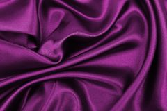 Smooth elegant pink silk or satin luxury cloth texture as abstract background. Luxurious valentines day background design. Smooth elegant pink silk or satin stock image