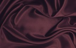 Smooth elegant pink silk or satin luxury cloth texture as abstract background. Luxurious valentines day background design. Smooth elegant pink silk or satin royalty free stock images