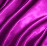 Smooth elegant pink silk. Vector Stock Photo