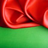 Smooth elegant red silk Royalty Free Stock Photo