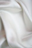 Smooth elegant white silk as background Royalty Free Stock Photos