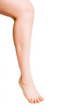 Smooth female leg Royalty Free Stock Photography