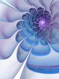 Smooth fractal flower Stock Images