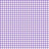 Smooth Gingham Seamless Pattern. Smooth light purple and white classic gingham texture royalty free illustration