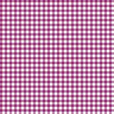 Smooth Gingham Seamless Pattern. Smooth magenta pink and white classic gingham texture royalty free illustration