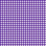 Smooth Gingham Seamless Pattern. Smooth purple and white classic gingham texture royalty free illustration